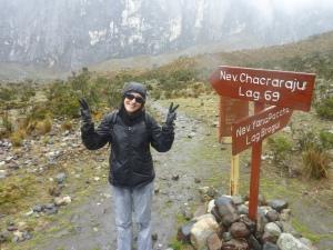 Objectif : arriver à grimper jusqu'à la laguna 69 en 2016 ! (photo de novembre 2011)