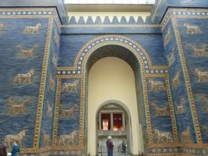 Porte d'Ishtar à Babylone…