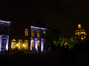 Musée Rodin by night