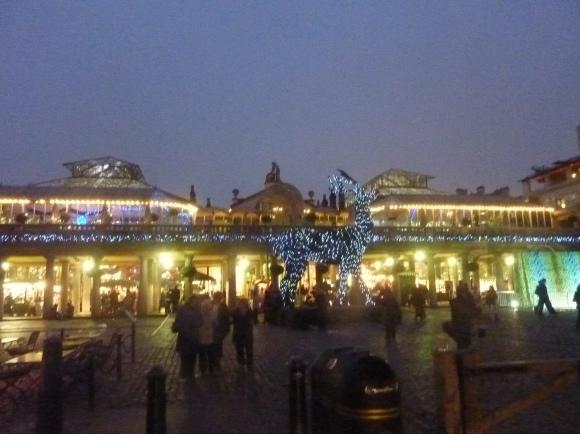 Souvenir de Covent Garden en novembre 2011... première étape de ce TDM :-)