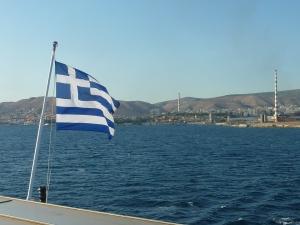 Départ d'Athènes