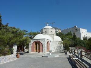 La chapelle principale du monastère