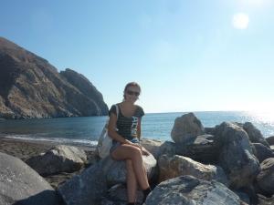 @ Perissa Beach