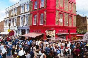 Le marché de Portobello Road - http://london-sightseeing.net