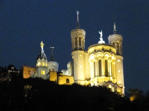 Fourvière by night