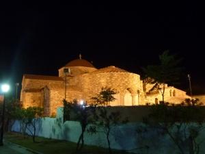 L'église de la Panagia Ekatondapiliani
