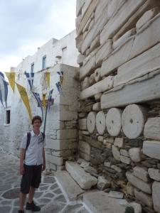 Le Kastro... construit à partir de colonnes doriques !