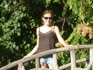 Dans le jardin botanique