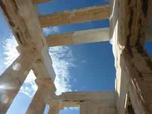 Stoa permettant d'accéder aux temples de l'Acropole