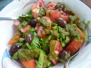 Enfin, de la verdure !!!