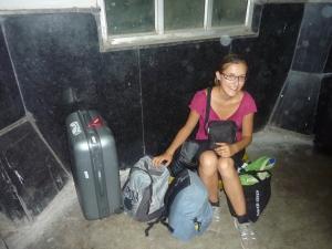 En attendant le train de nuit en Inde, juin 2012...