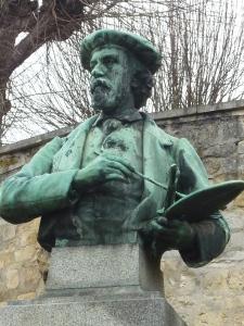 Buste de Daubigny