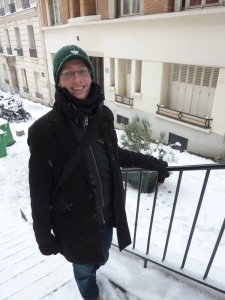 En montant vers Montmartre