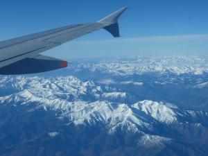 Le survol des Pyrénées