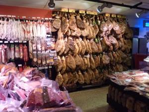 Au Carrefour Market – pas de doute, je suis en Espagne !