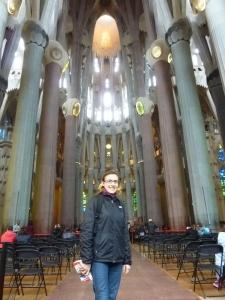 A l'intérieur de la Basilique