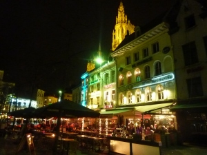 Arrivée à Anvers
