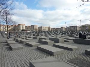 Mémorial de l'Holocauste, sans neige cette fois