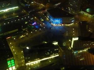Alexanderplatz vue d'en haut