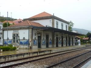 La gare de Pinhao...