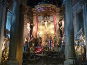Diorama dans le sanctuaire en tant que tel