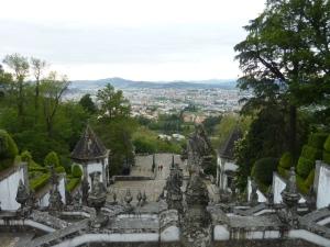 Vue panoramique sur Braga