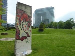 Petite portion du mur de Berlin !