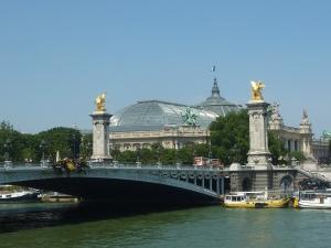 Pont Alexandre III et Grand Palais