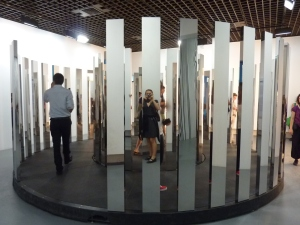 """Rotating Labyrinth"", de Jeppe Hein (1974)"