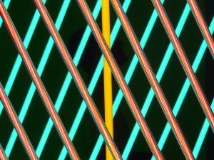 """""""Hanging Neon"""" de Stephen Antonakos (1965)"""