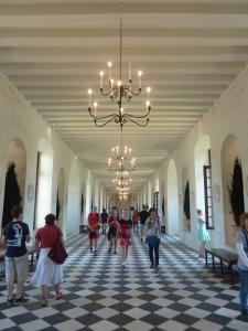 La Galerie (correspondant à la partie du château qui enjambe le Cher)