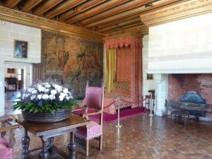 Chambre de Gabrielle d'Estrées (qui fut envahie par un groupe de 50 touristes chinois approximativement 3 secondes après cette photo)