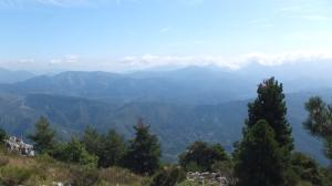 En haut du Mont Férion