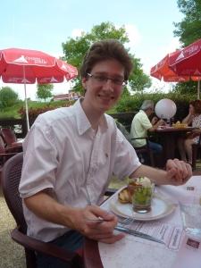 Déjeuner sur la route au Courtepaille