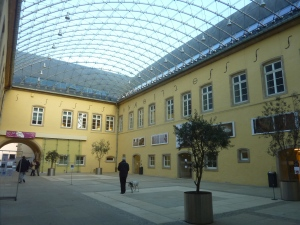 Le centre culturel de l'abbaye de Neumünster