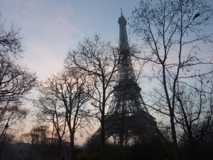 Tour Eiffel, mars 2014