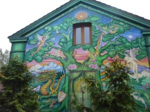A l'entrée de Christiania