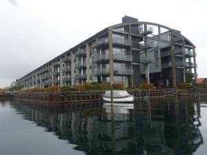 L'immeuble d'habitation le plus cher de la ville, situé dans une ancienne usine de bateaux.