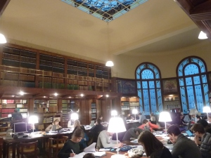 La salle de lecture