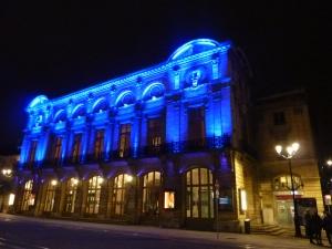 Blue blue blue ! L'opéra de Reims