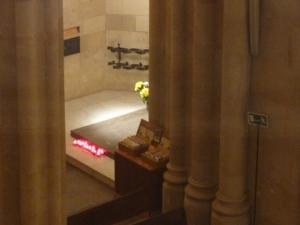 Le tombeau de Gaudi