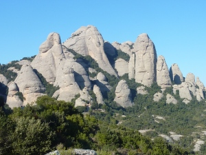 Les montagnes typiques du secteur