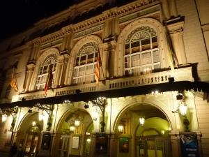 Théâtre del Liceu, où ils jouent Cendrillon en ce moment