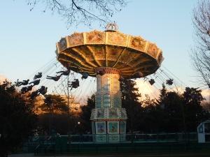 Mon attraction favorite, les chaises volantes !