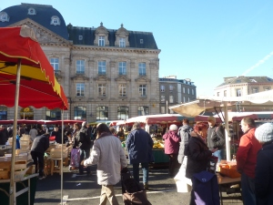 Le marché de Saint Brieuc