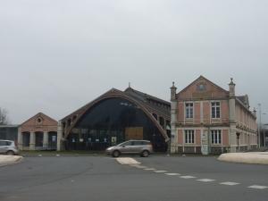 L'ancienne gare centrale, désormais reconvertie en resto U