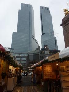 Marché de Noël à Columbus Circle