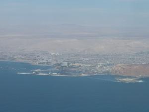 Arrivée à Arica