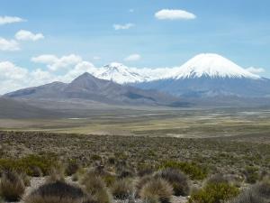 Au début de l'altiplano