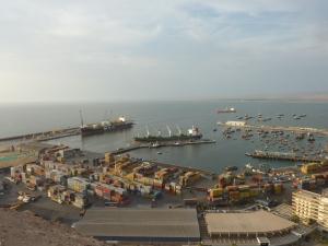 Vue panoramique sur le port